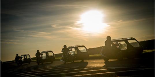 motorbike funerals